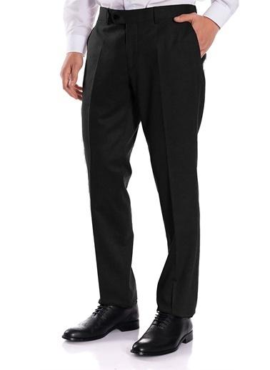 IGS Erkek Sıyah Regularfıt / Rahat Kalıp Std Pantolon Siyah